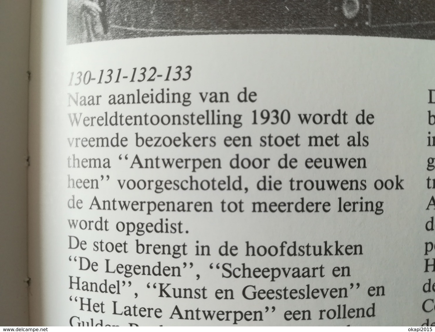 HET ANTWERPEN VAN TOEN HET VERHAAL VAN EEN STAD TUSSEN TWEE OORLOG EN BOEK LIVRE RÉGIONALISME BELGIQUE - Antwerpen