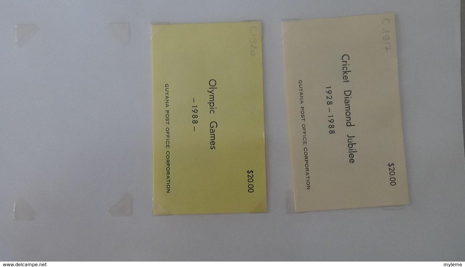 Belle Collection De GUYANE En Carnets, Blocs Et Feuilles Entières  **. A Saisir !!! - Timbres