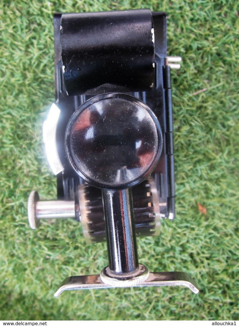 VINTAGE PATHEORAMA  Projecteur Manuel -Lanterne-Magique-Photoscopie LUX 25 +1 Film 35mm Possibilité Achat Autre Films - Proyectores De Cine