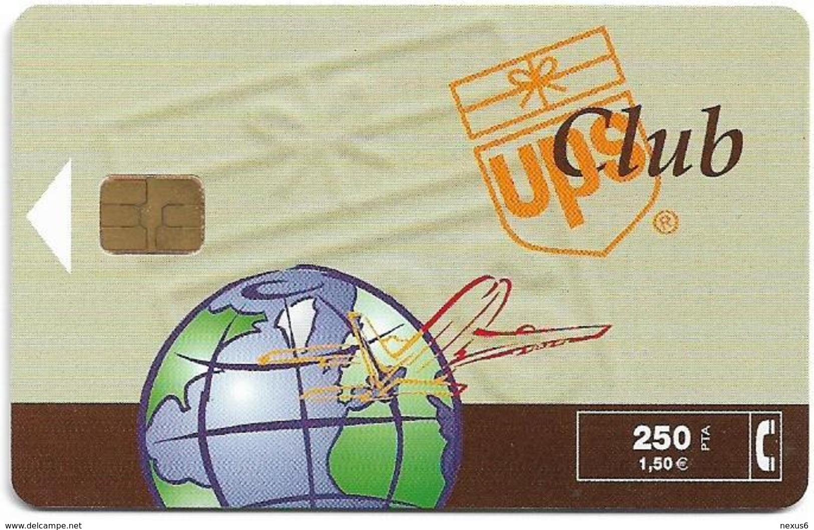 Spain - Telefónica - Club Ups - P-423 - 02.2000, 250PTA, 3.500ex, Used - España