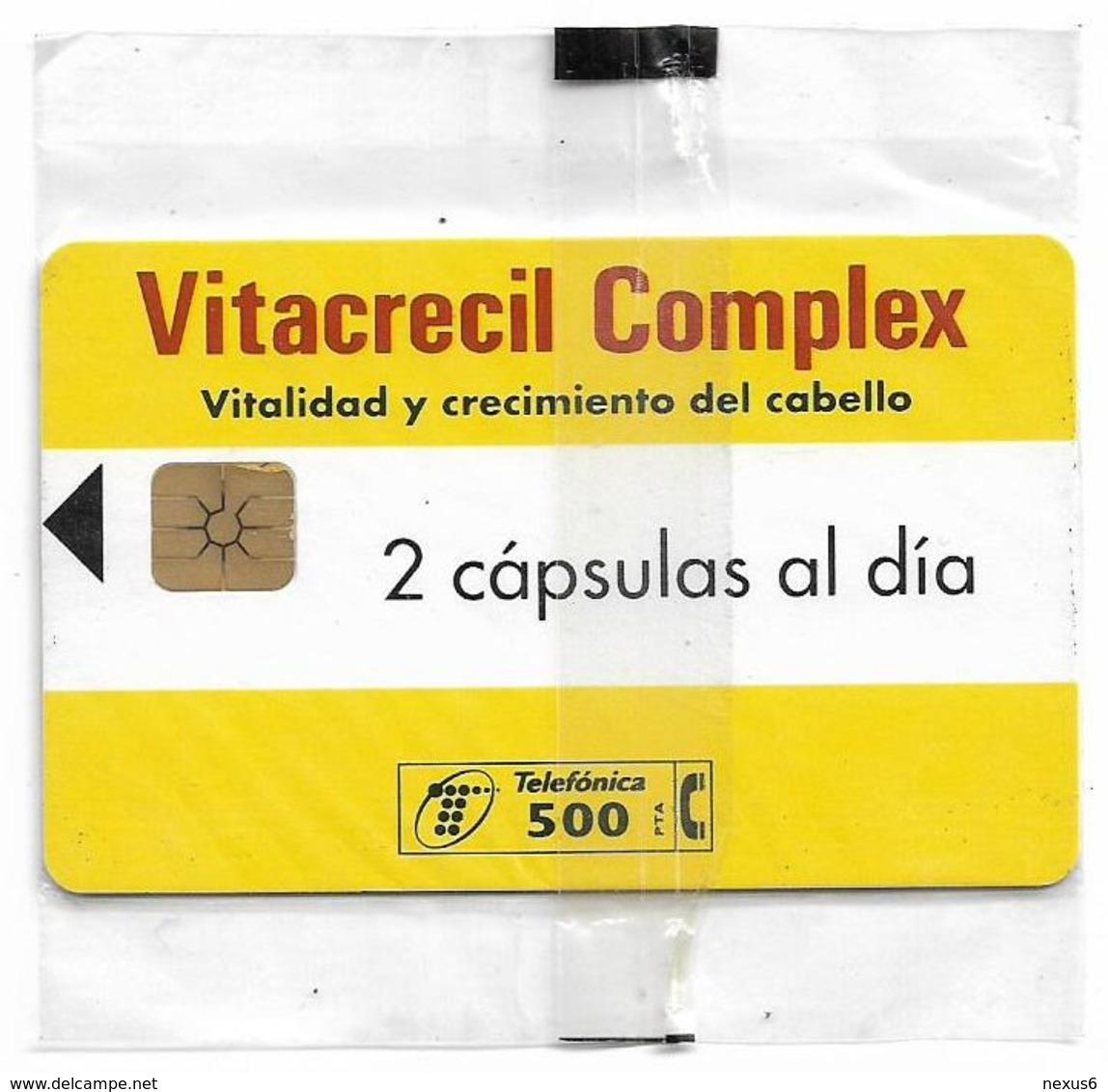 Spain - Telefónica - Vitacrecil Complex - P-322 - 03.1998, 500PTA, 13.000ex, NSB - España