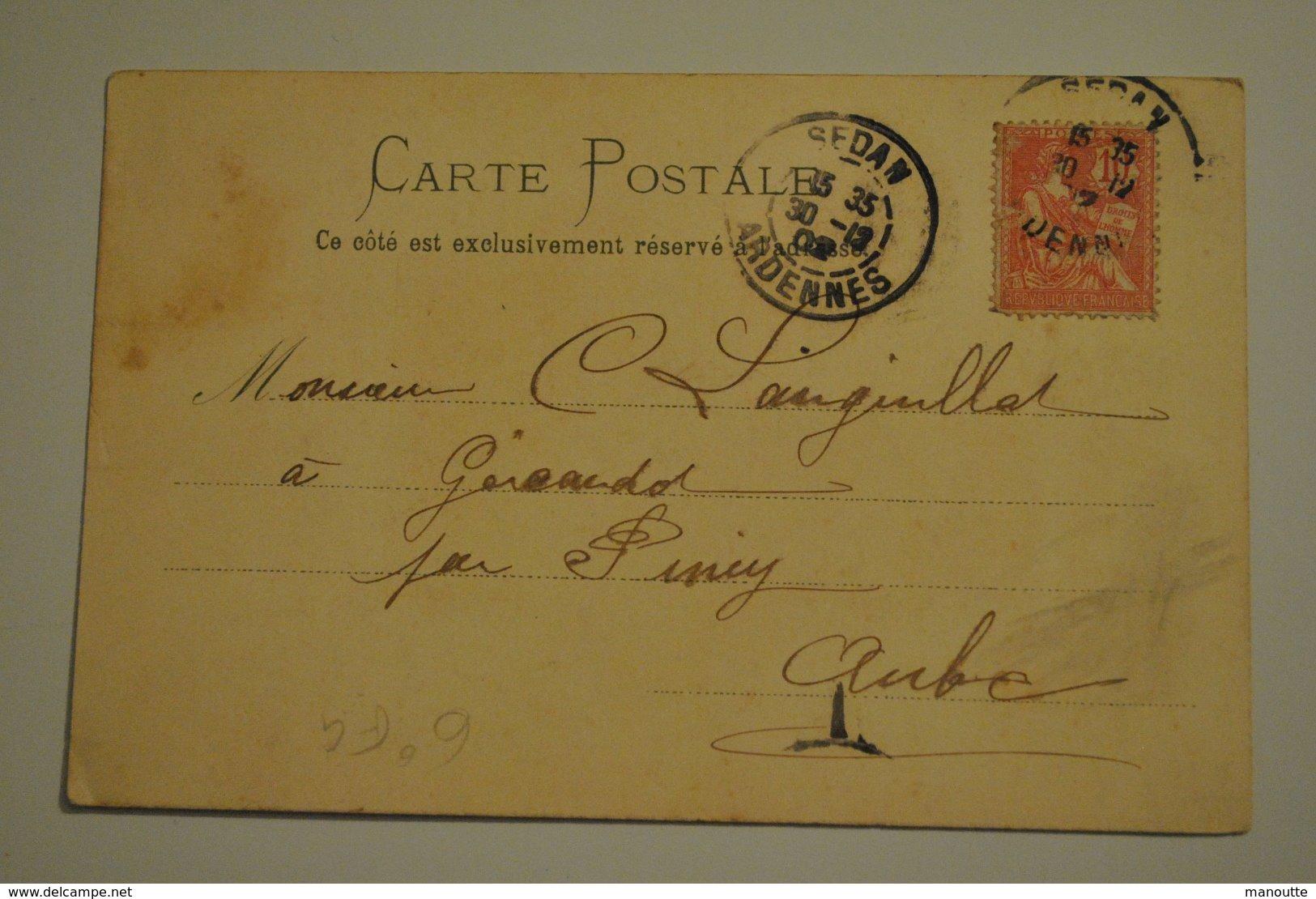 Illustrateur F G Femme Le Soir Art Nouveau Tres Belle Cpa - Altre Illustrazioni