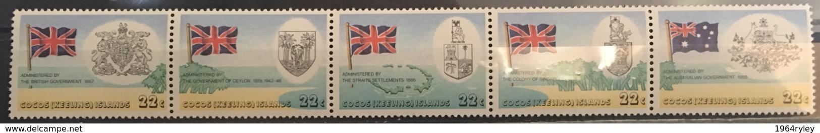 COCOS ISLANDS  - MNH** - 1980 - # 60 A - Cocos (Keeling) Islands