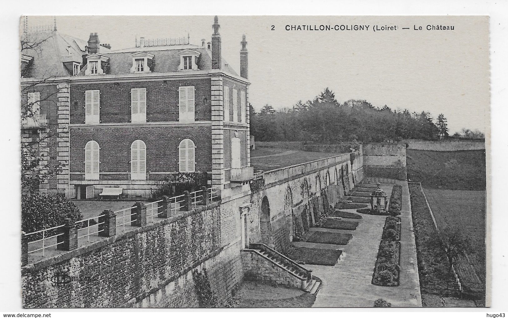 CHATILLON COLIGNY - N° 2 - LE CHATEAU - CPA NON VOYAGEE - Chatillon Coligny