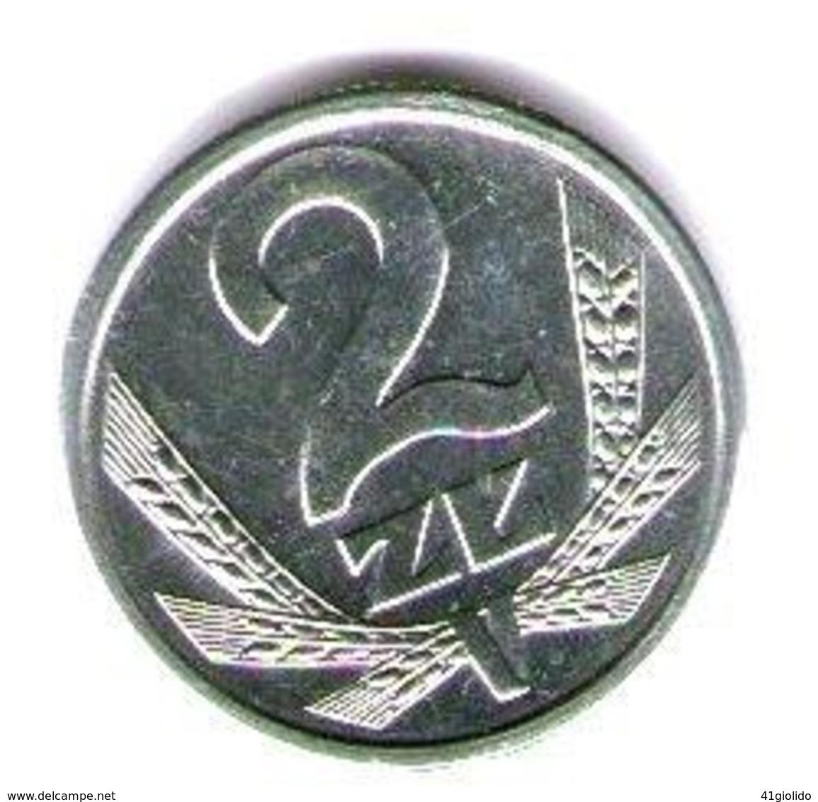 Polonia 2 Zloty 1990 - Pologne