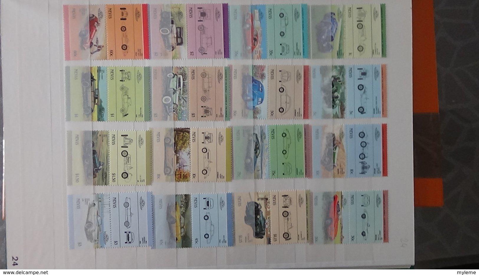 Plus De 140 Blocs, Bandes, Carnets ** + Timbres De Différents Pays. A Saisir !!! - Timbres