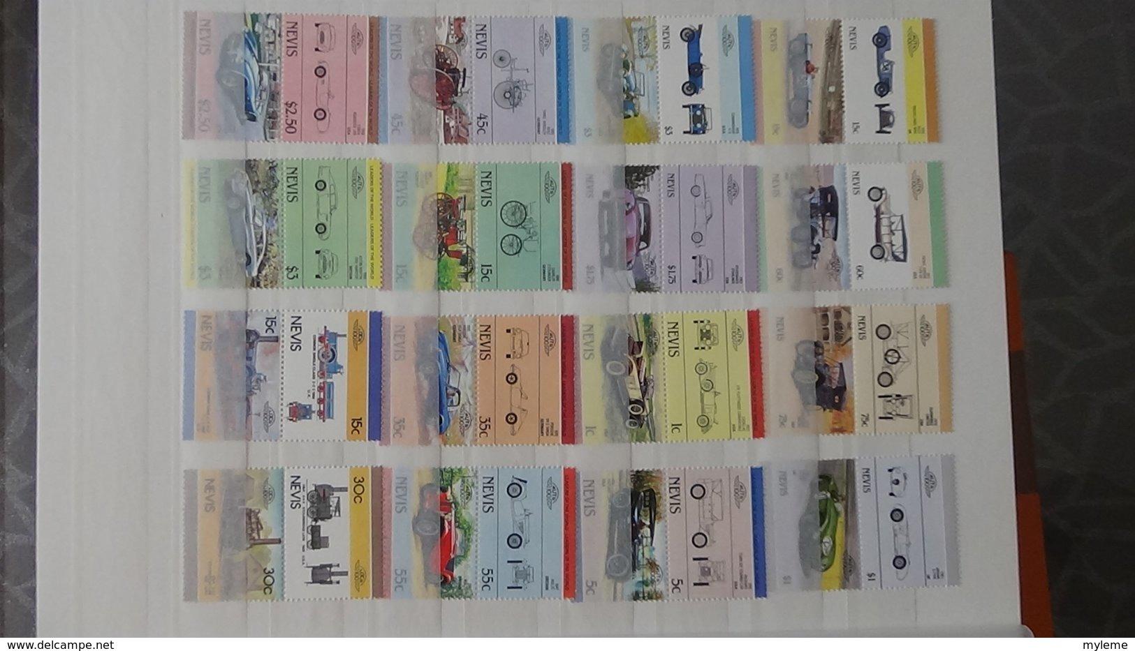 Plus De 140 Blocs, Bandes, Carnets ** + Timbres De Différents Pays. A Saisir !!! - Postzegels