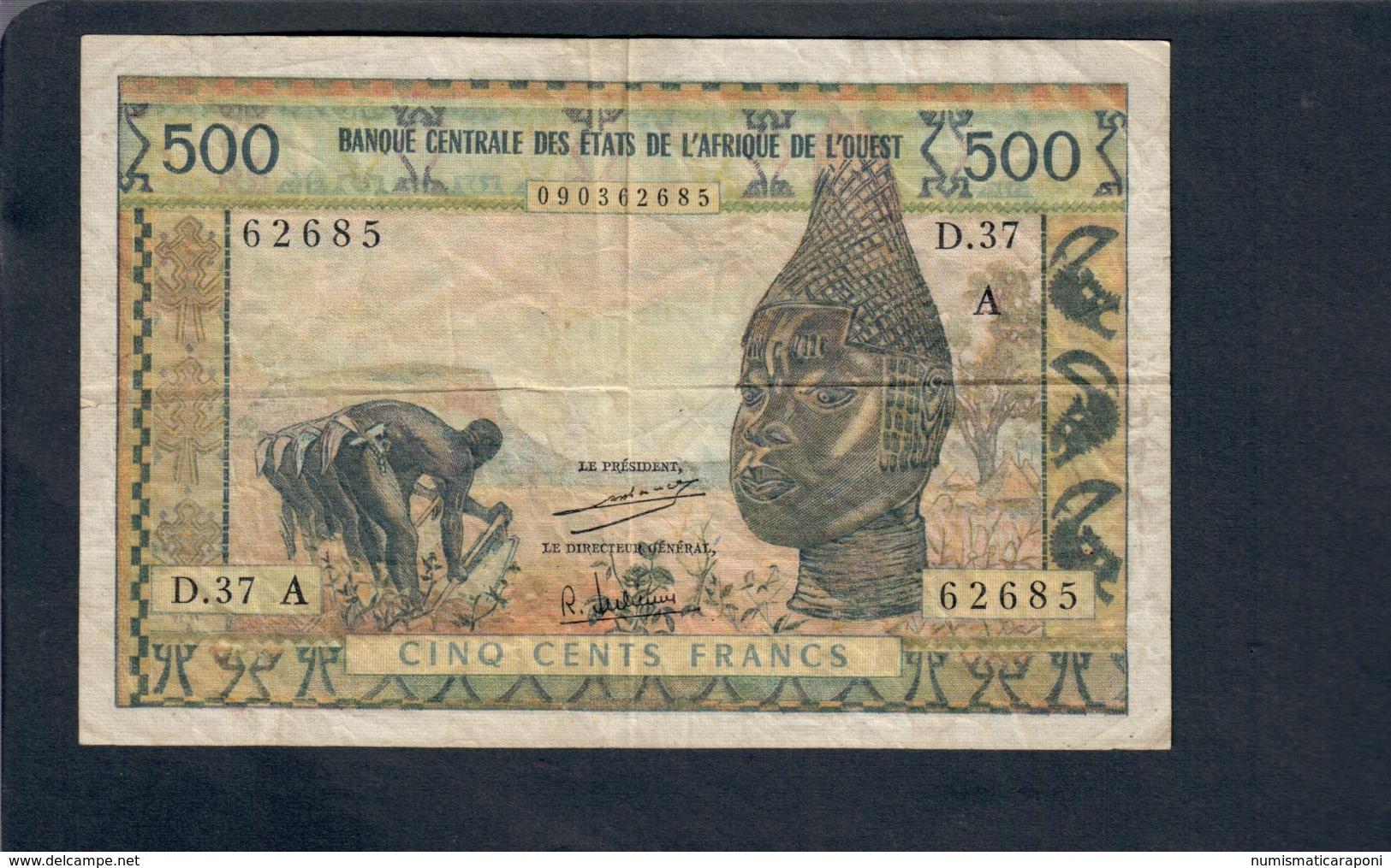 AFRIQUE DE L'OUEST - 500 FRANCS   LOTTO 2817 - Altri – Africa