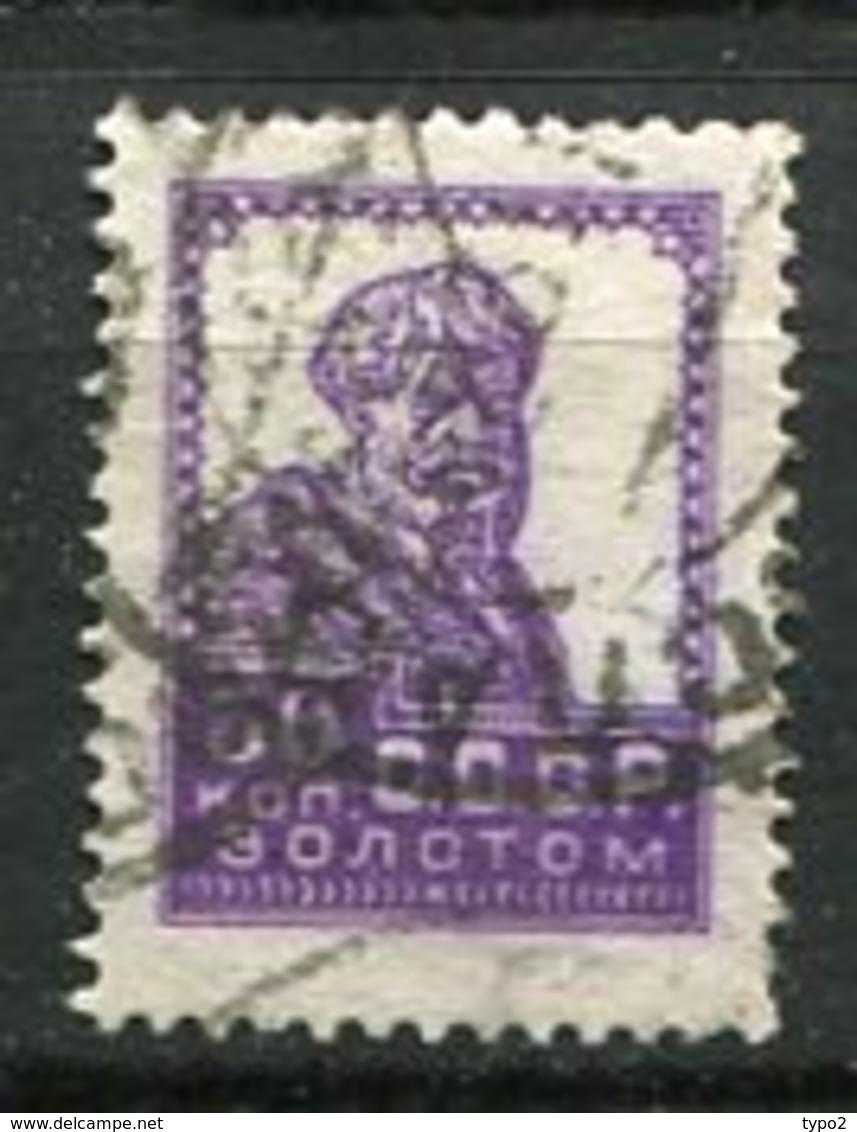 RUSSIE - Yv N° 259 A T Dent 14    (o)  30K  Paysan   Cote  3  Euro BE - 1923-1991 UdSSR