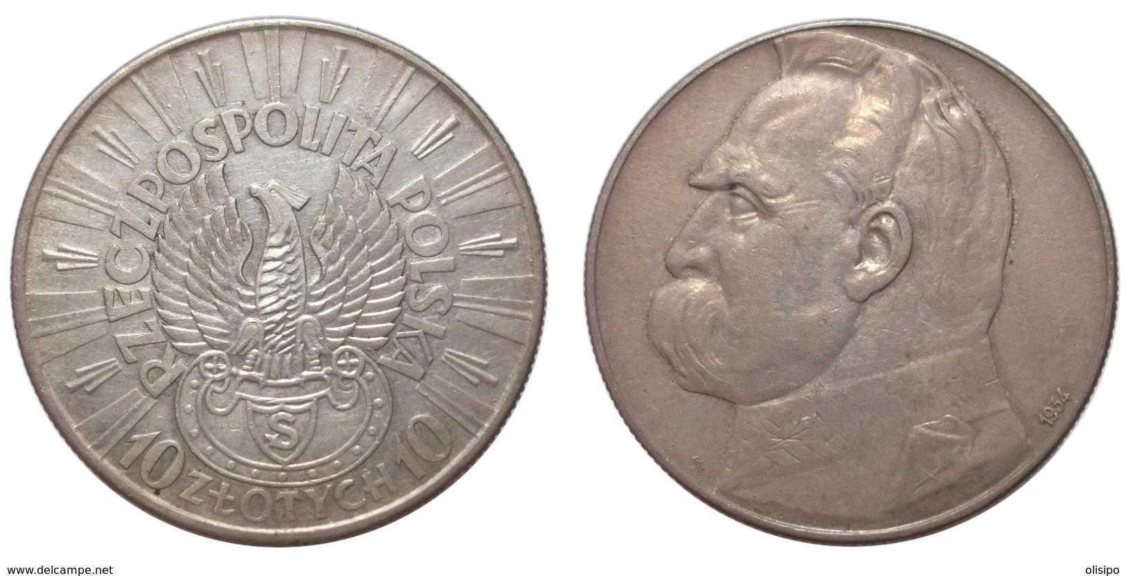 10 Zlotych 1934 (Poland) Silver - Pologne