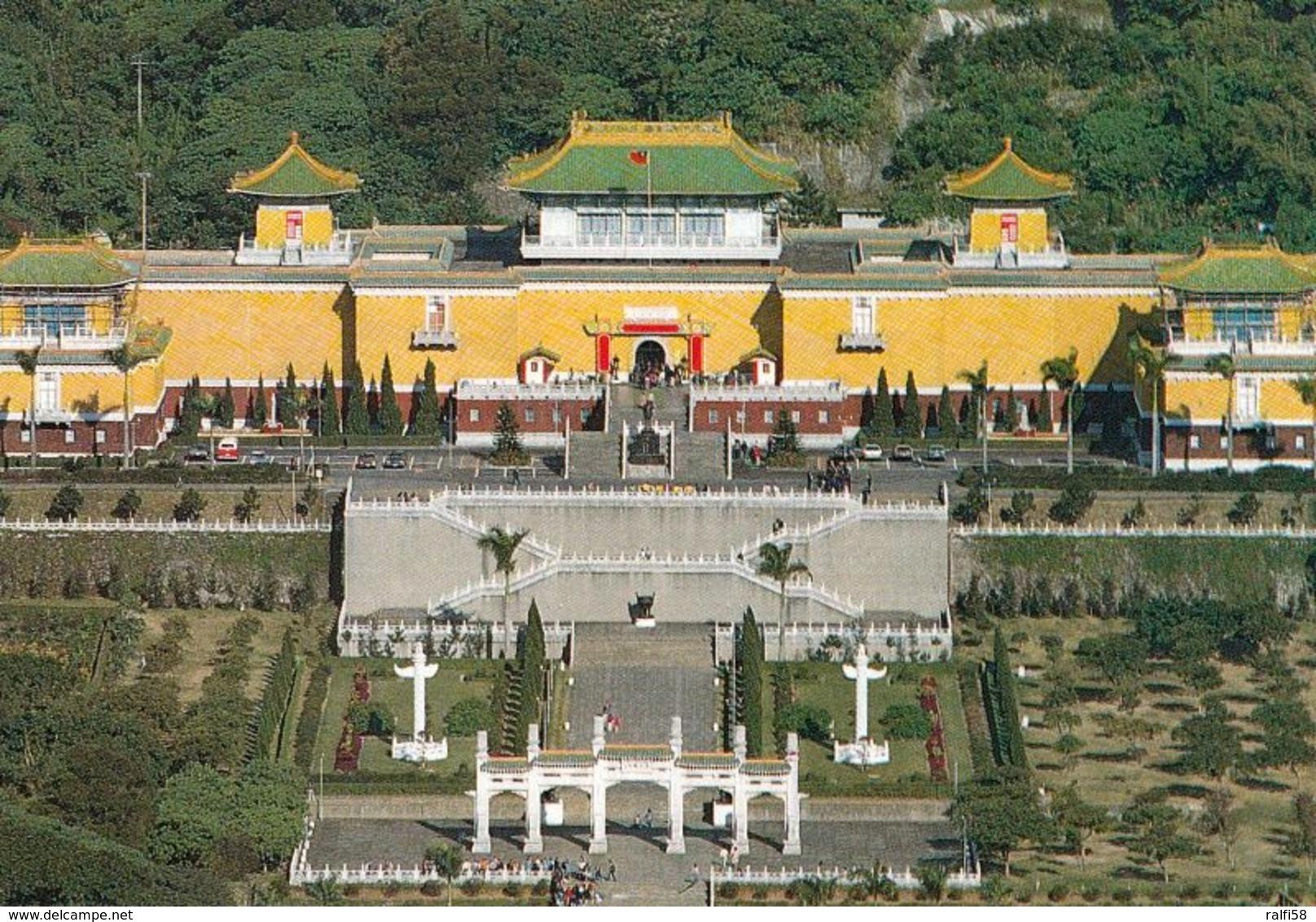 1 AK Taiwan * Das Nationale Palastmuseum In Taipeh - Es Zeigt Die Weltweit Größte Sammlung Chinesischer Kunstwerke * - Taiwan