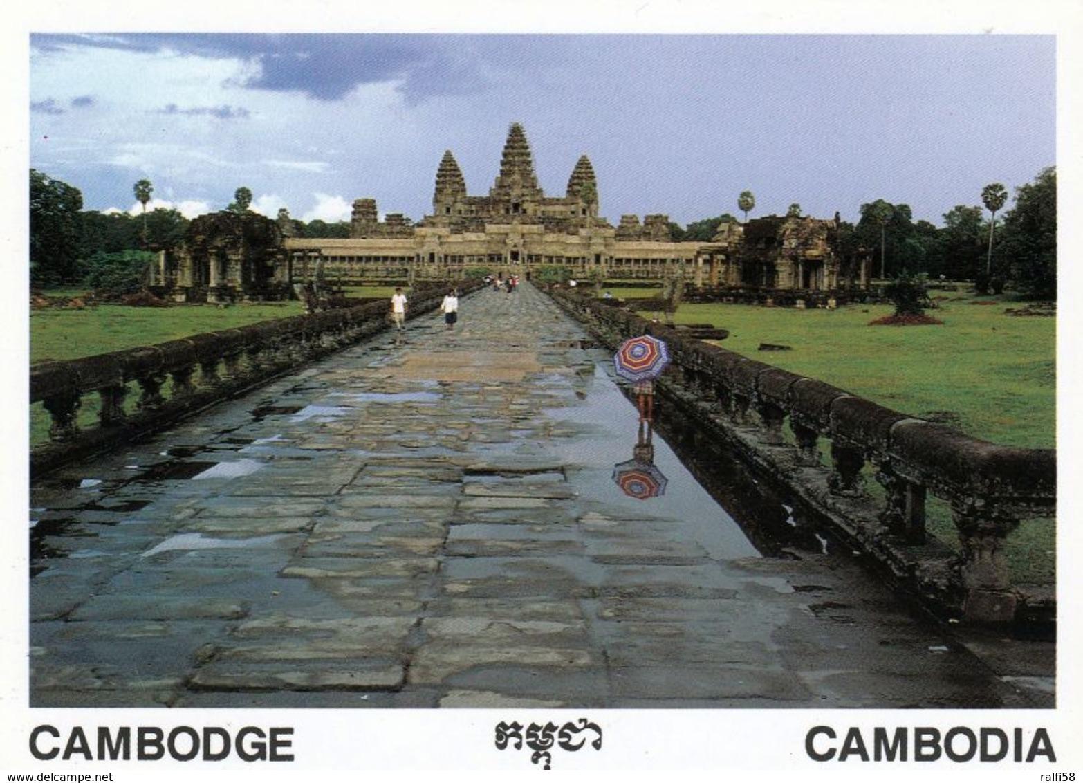 1 AK Kambodscha Cambodia * Tempel Angkor Wat * UNESCO Weltkulturerbe Seit 1992 * - Cambodge