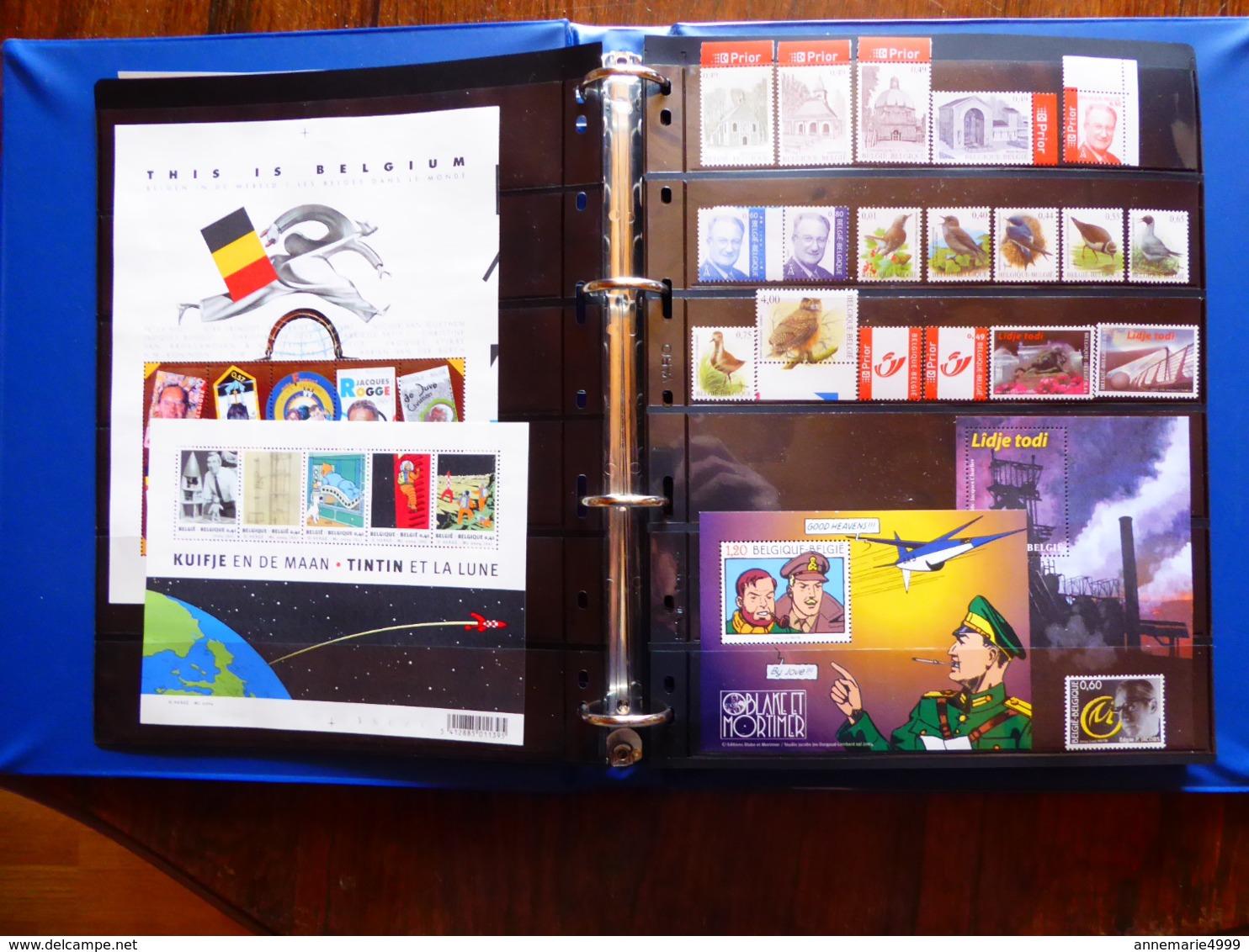 BELGIQUE Collection Avec Blocs 2004 à 2008 Neufs Sans Charnière Faciale 356 € Moins 50 % Voir 16 Scans - Belgium