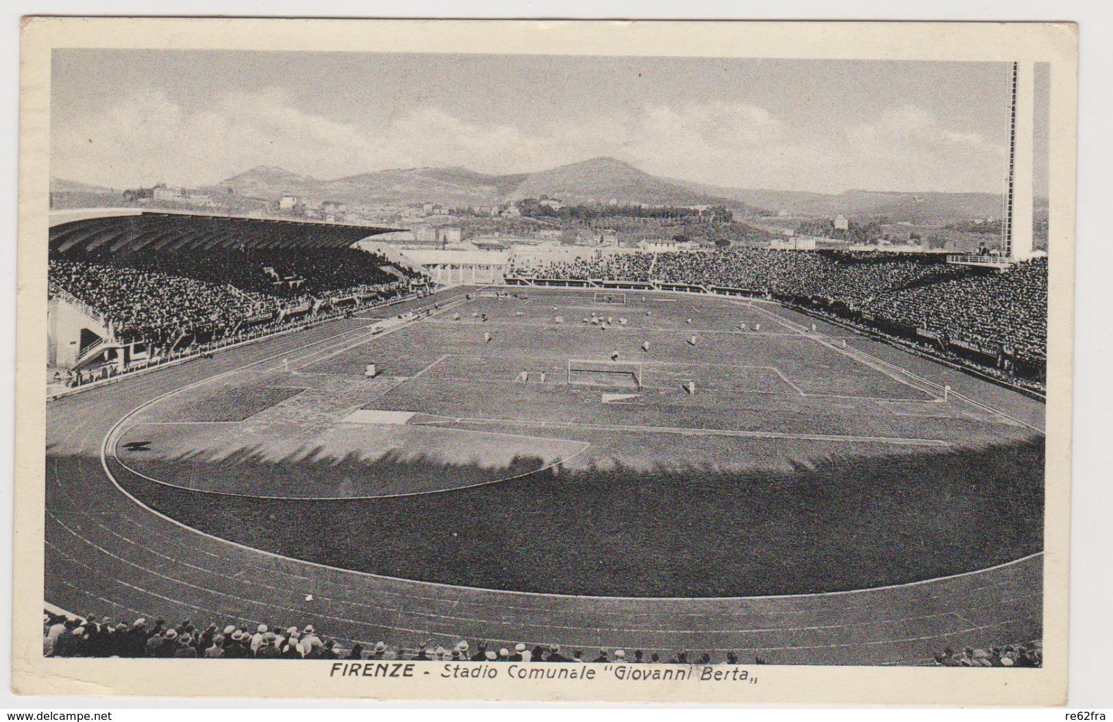Firenze, Lo Stadio Comunale Giovanni Berta  - F.p. - Anni '1930 - Firenze