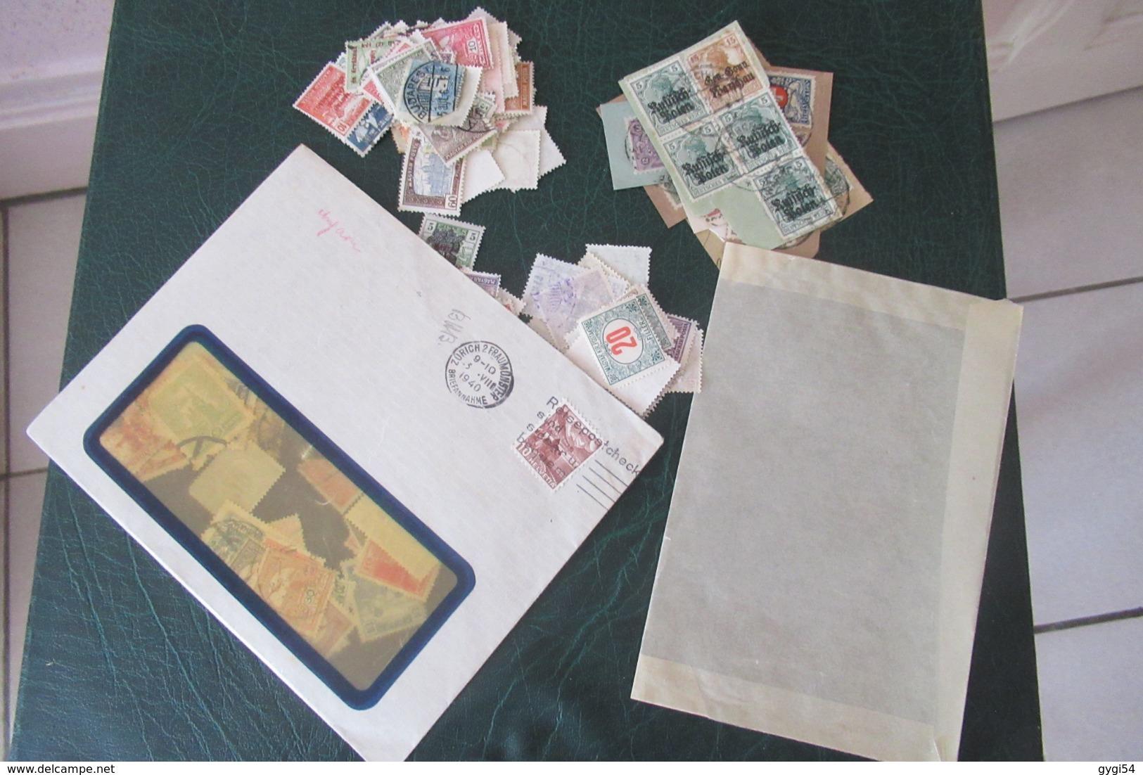 Vrac De France Et Monaco MNH, MLH   Et  Oblitérés , Carnets Croix Rouge Et Divers 43 Scans - Stamps