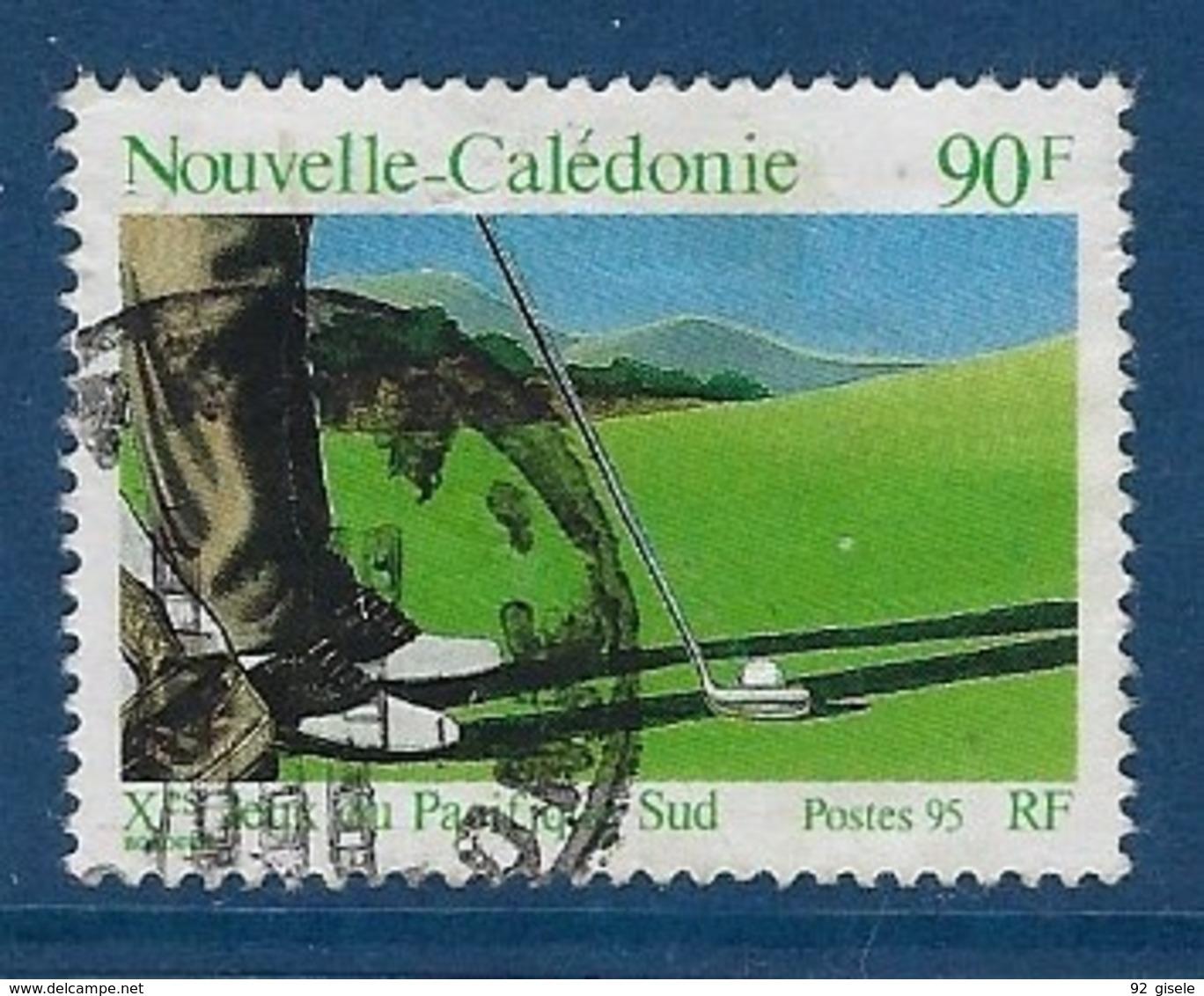 "Nle-Caledonie YT 699 "" Golfeur "" 1995 Oblitéré - Nieuw-Caledonië"