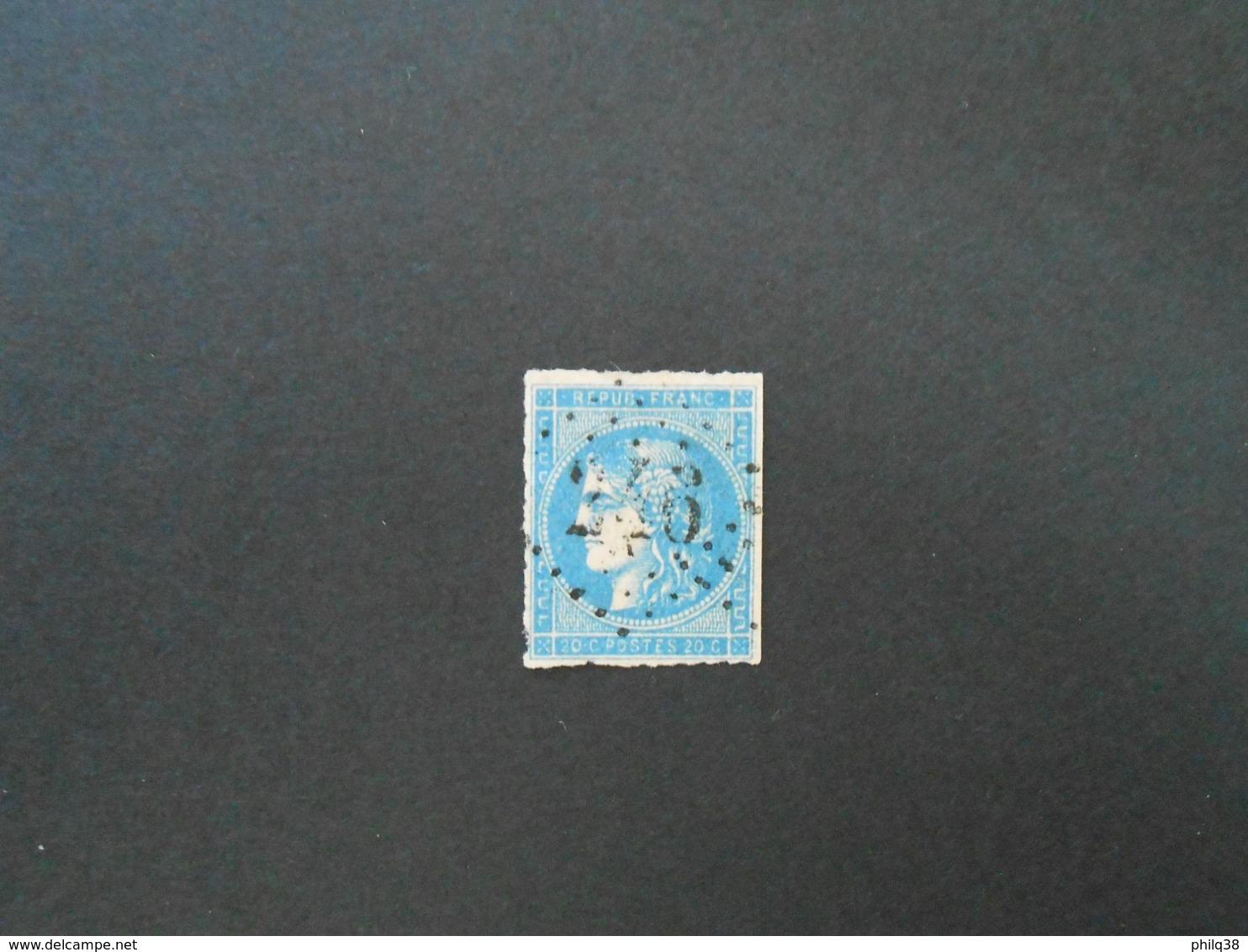 CERES 20 C Type II Report 2 Y&T 45B, état B - 1870 Emissione Di Bordeaux