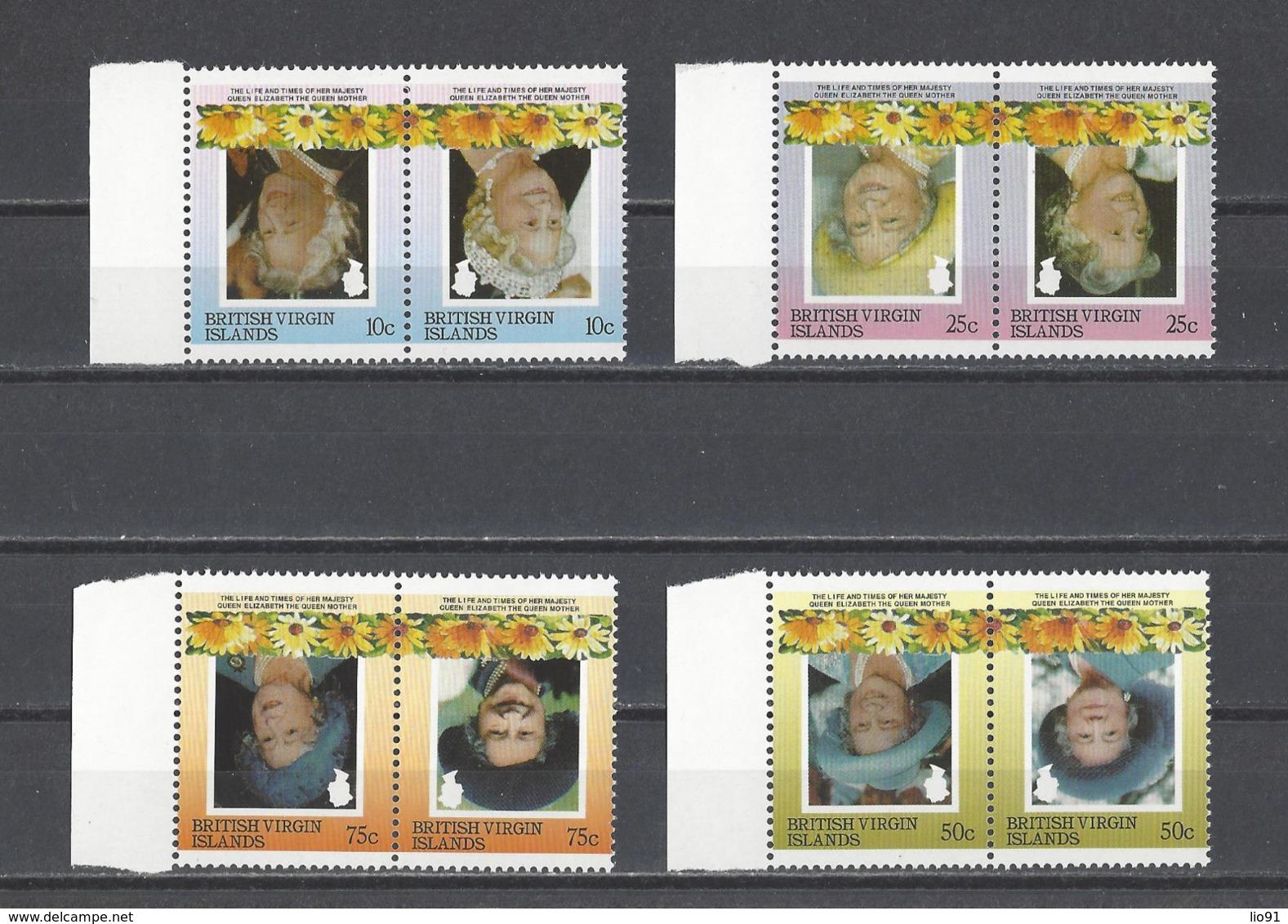 ILES VIERGES   YT  SM Elizabeth II  Centre Renversé  Neuf **  1985 - Iles Vièrges Britanniques