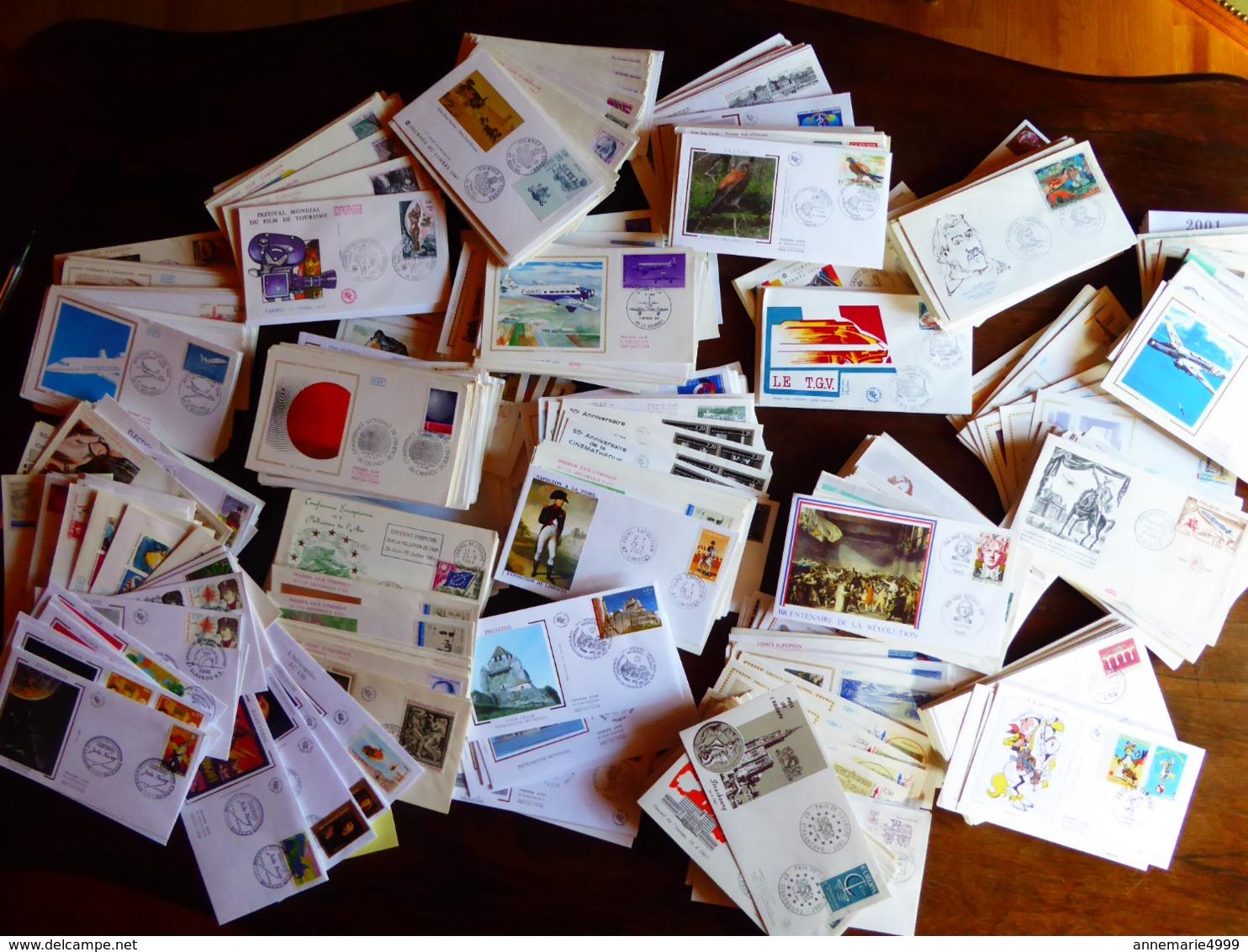 FRANCE  800 Lettres FDC  Premier Jours Entre 1960 Et 2010 - FDC