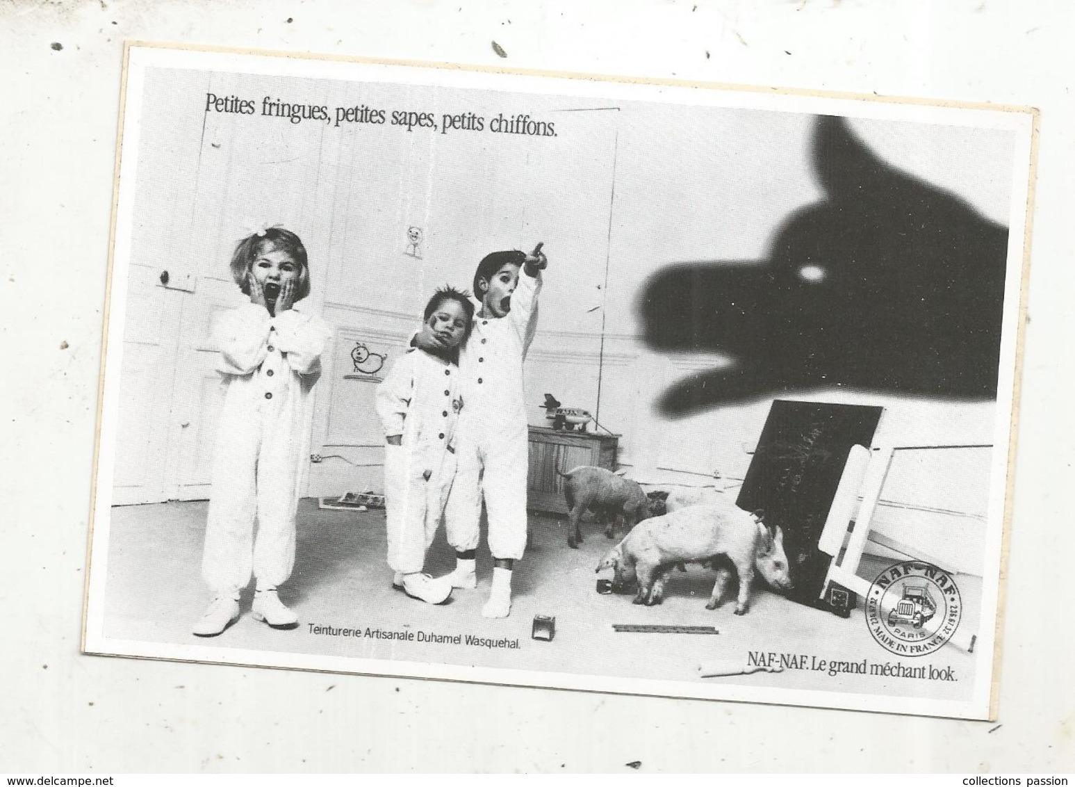 Autocollant, NAF-NAF ,cochon , Le Grand Méchant Look - Autocollants