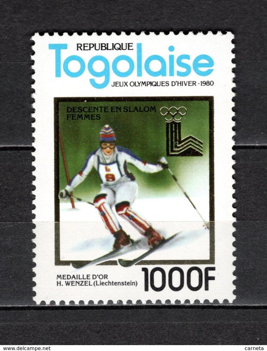 TOGO N° 1011E  NEUF SANS CHARNIERE COTE  18.00€  JEUX OLYMPIQUES  SPORT - Togo (1960-...)