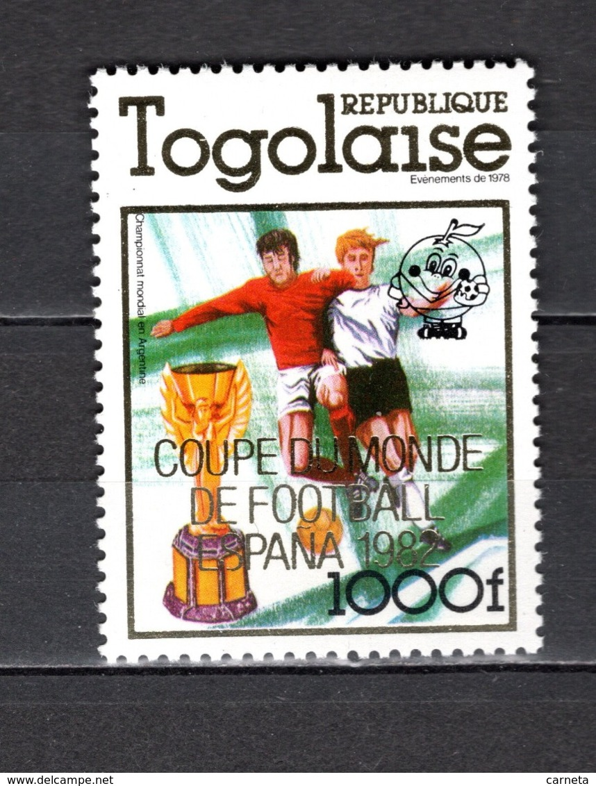 TOGO N°  1012  NEUF SANS CHARNIERE COTE  13.50€  FOOTBALL - Togo (1960-...)