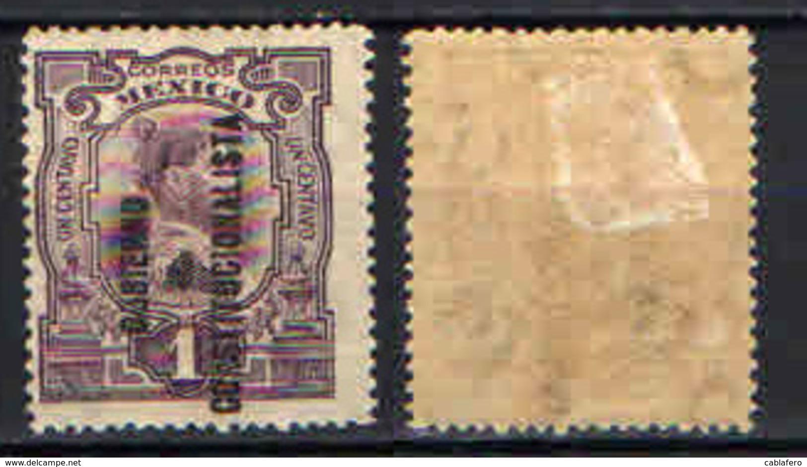 MESSICO - 1914 - GOBIERNO COSTITUCIONALISTA - MH - Messico