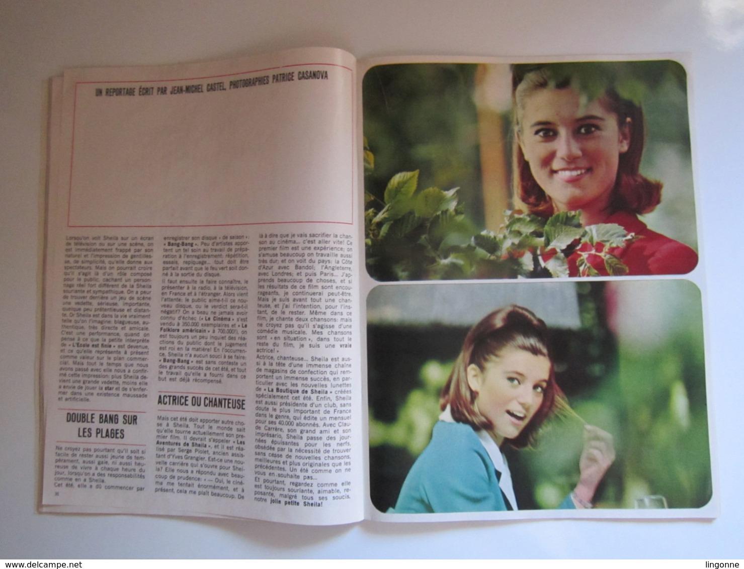 MOINS 20 Numéro 15 Août 1966 SHEILA STAR FRANCE GALL ELVIS PRESLEY POLNAREFF CLAUDE FRANCOIS JOHNNY - Musik