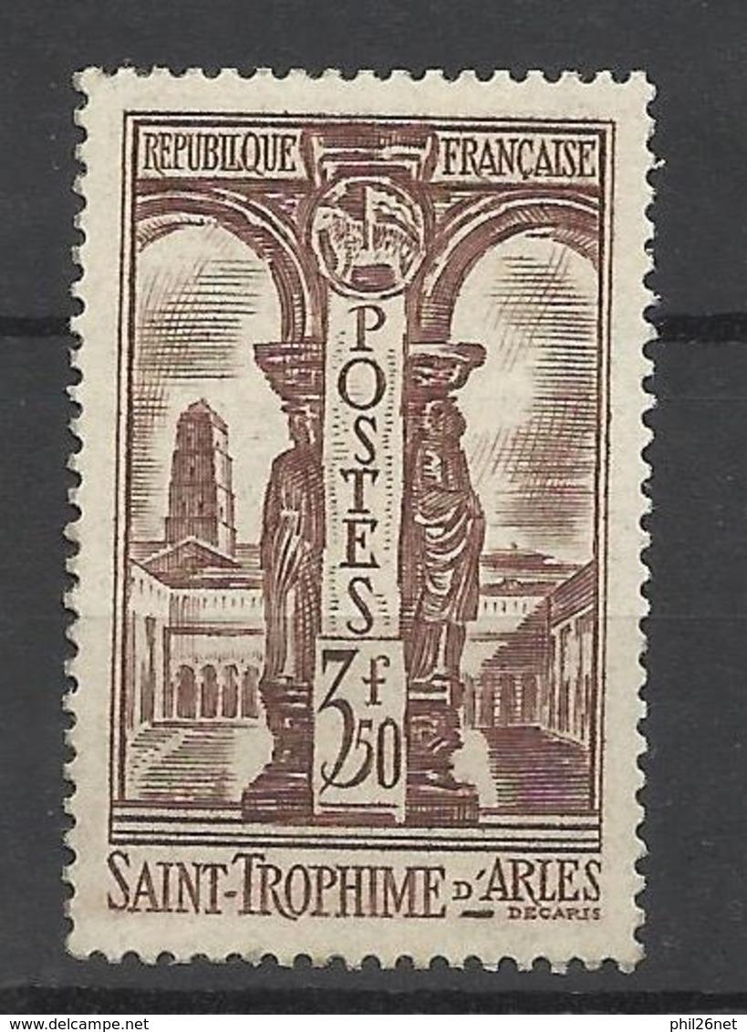 France N°302 Saint Trophime     Neuf * * TB   Soldé  à  Moins De 15 %  MNH VF - Nuovi