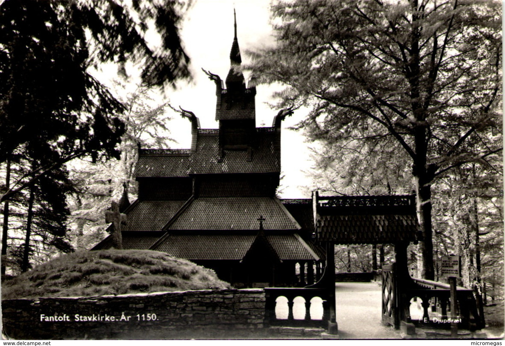 Fantoft Stavkirke - Norvège