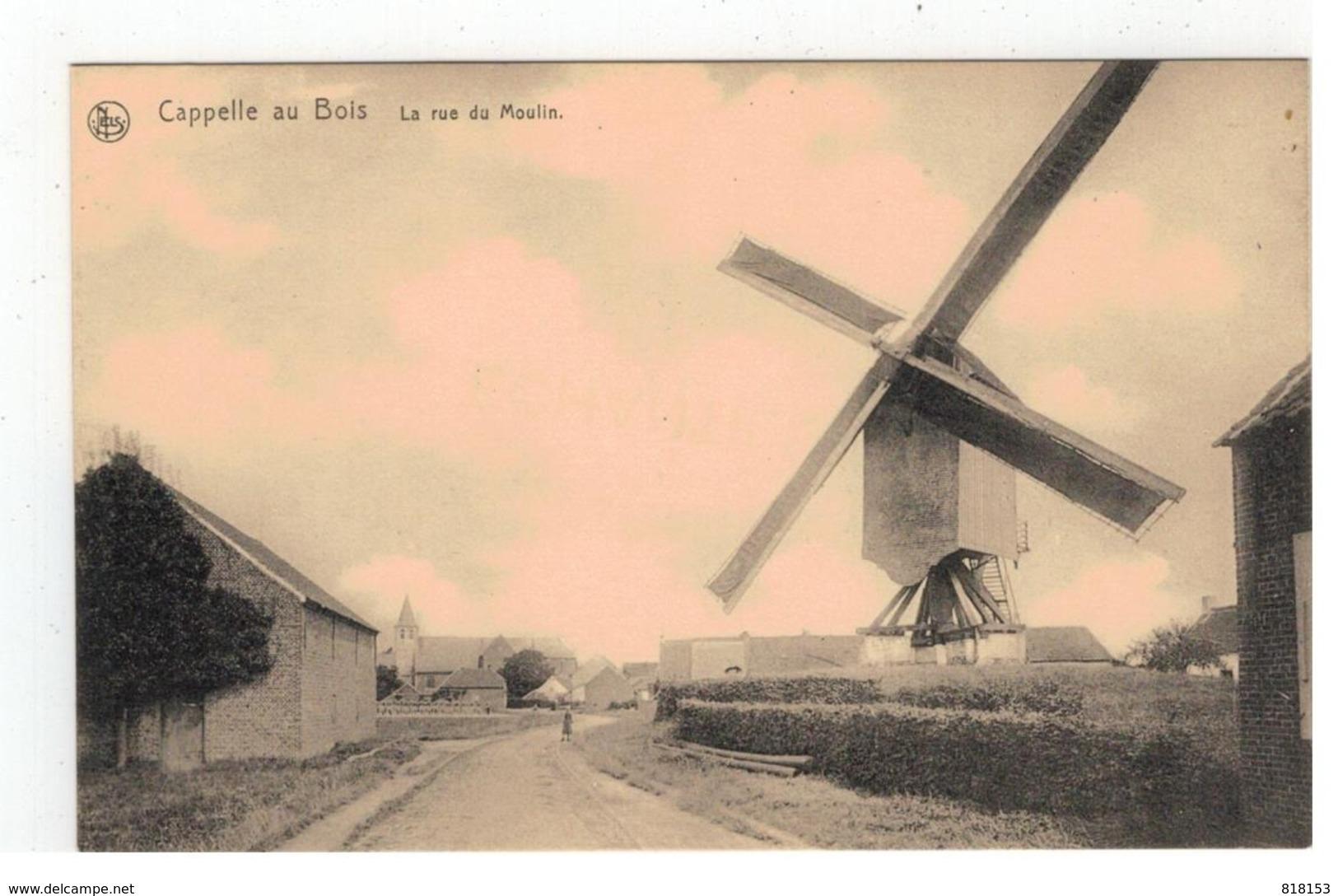 Kapelle-op-den-Bos  Capelle Au Bois  La Rue Du Moulin - Kapelle-op-den-Bos