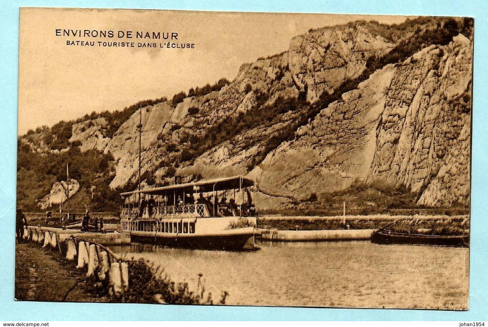 N°108 Op Postkaart, Afst. NAMUR 4 02/06/1914 (ex La Plante) -- COBA : 15 - 1912 Pellens