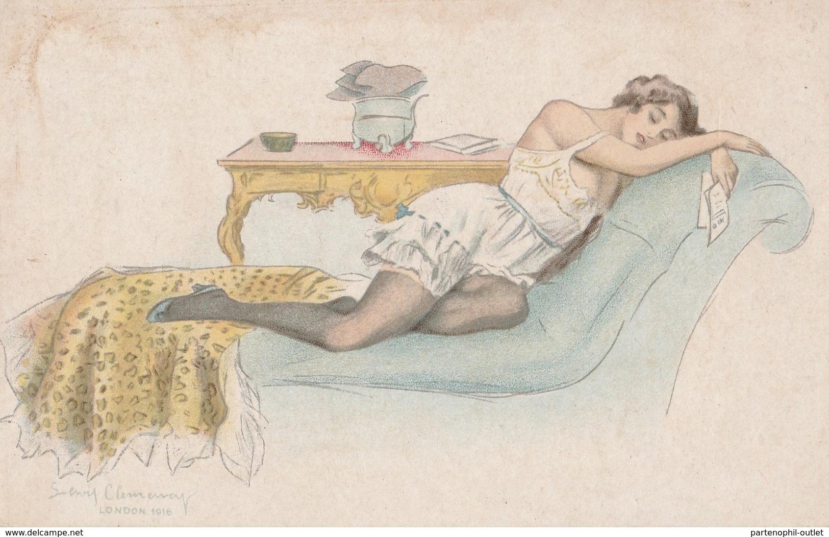 Cartolina  - Postcard / Non  Viaggiata - Unsent /  Donnina - Femmes