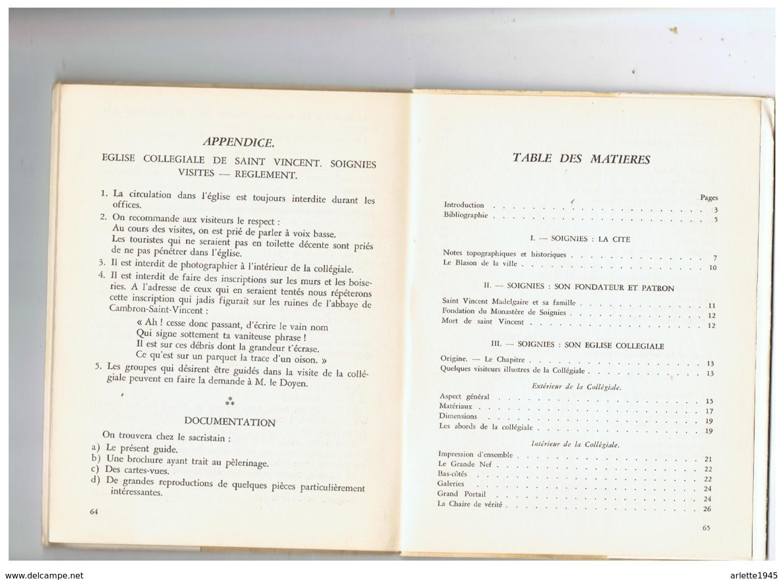 LIVRE DEDICACE CHAMOINE P. SCARMURE CURE DOYEN DE SOIGNIES (BELGIQUE ) NOTRE EGLISE  25. 1 .1954 - Belgium