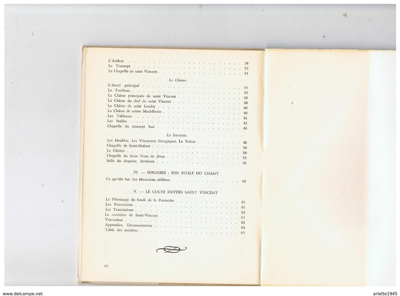 LIVRE DEDICACE CHAMOINE P. SCARMURE CURE DOYEN DE SOIGNIES (BELGIQUE ) NOTRE EGLISE  25. 1 .1954 - Belgien