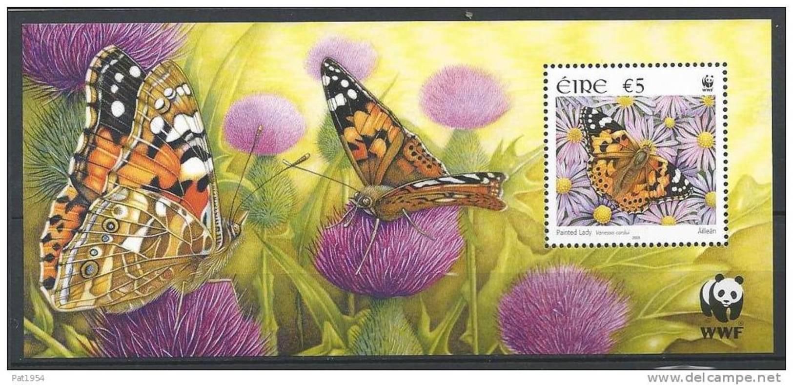 Irlande 2005 Bloc  N°58 Neuf Papillon - Blocs-feuillets