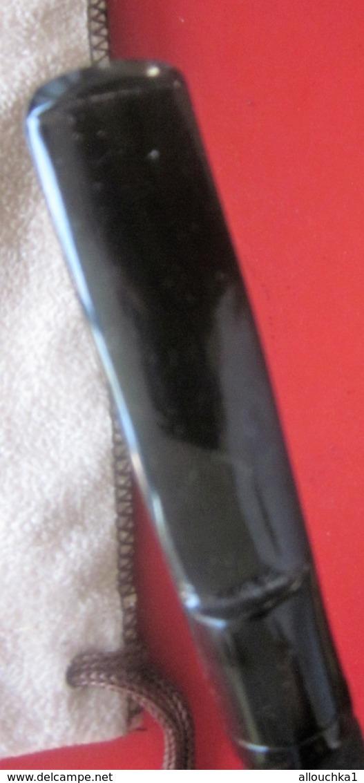 VINTAGE ANCIENNE PIPE DE BRUYÈRE NEUVE-PAUL VIOU  DE SAINT CLAUDE PAYS DE LA PIPE+ ACCESSOIRE  FUMEUR TABAC + POCHETTE - Heather Pipes