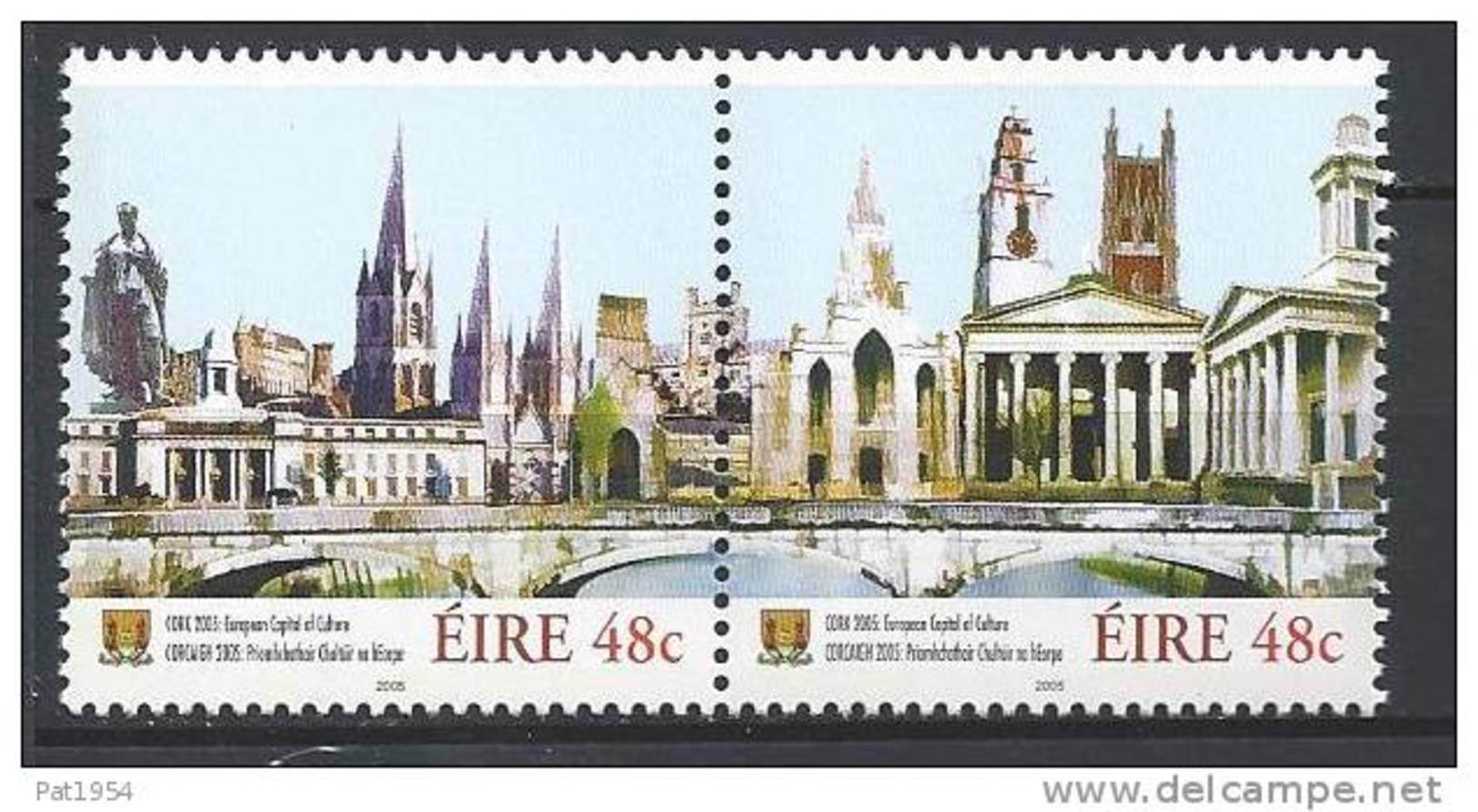 Irlande 2005 N°1638/1639 Neufs ** Cork Capitale Européenne De La Culture - 1949-... République D'Irlande