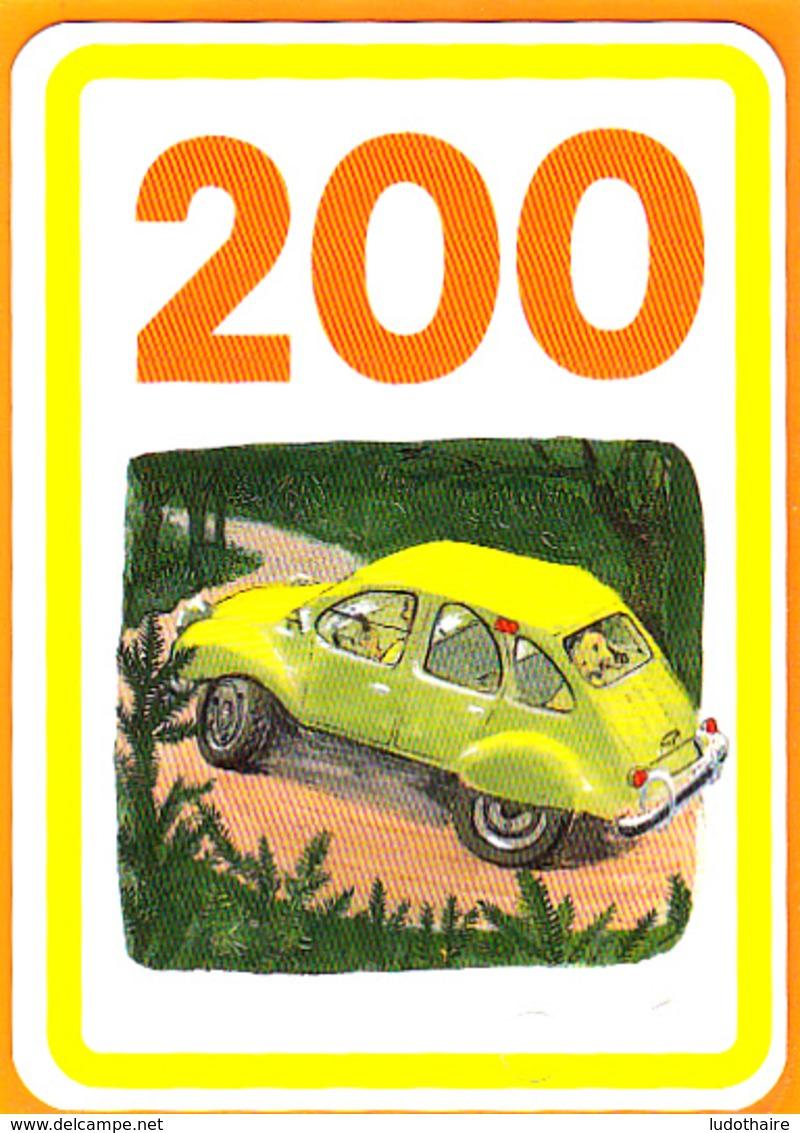 Carte De Jeu/ 2 CV Citroën, Dodoche, - Vieux Papiers