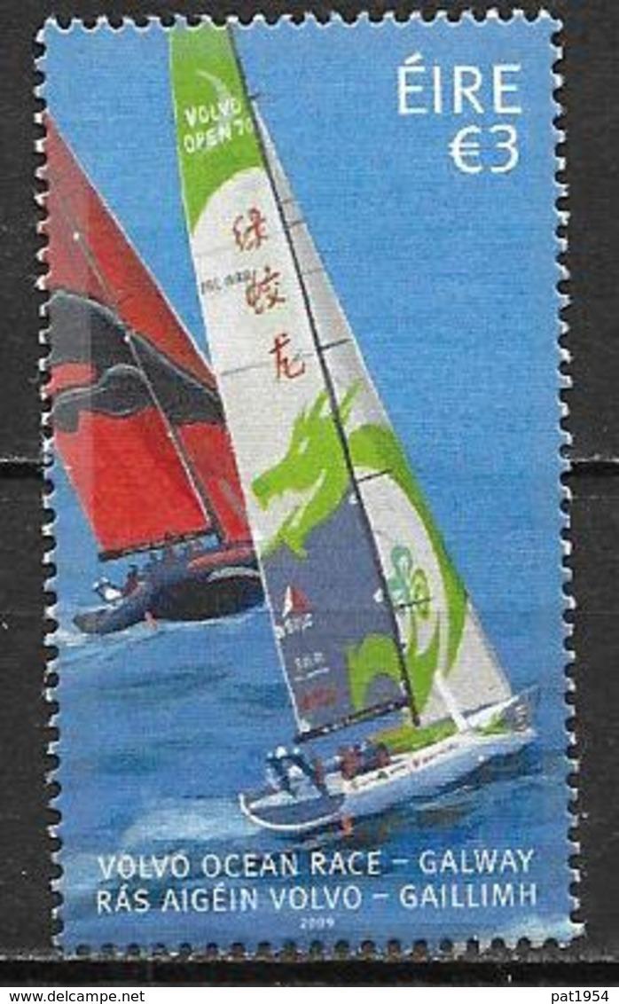 Irlande 2009 N°1894  Neuf Régate Volvo Ocean Race, Bateaux - 1949-... République D'Irlande