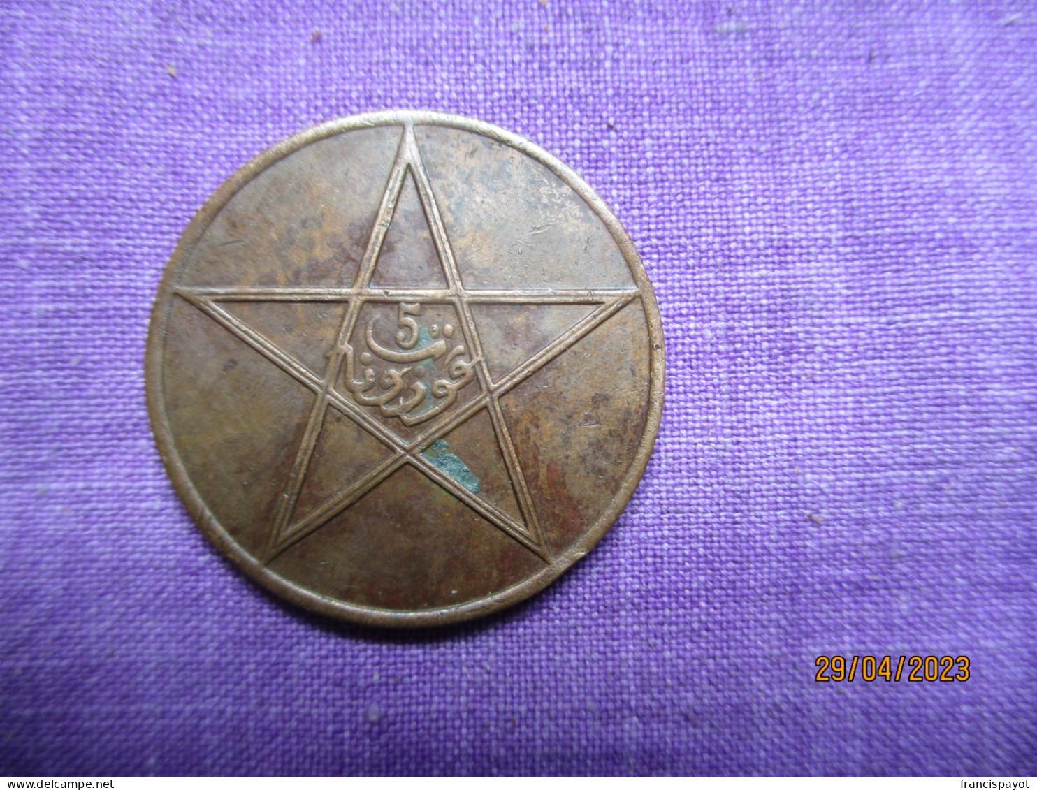 Morocco 5 Mouzounas 1340 - Maroc