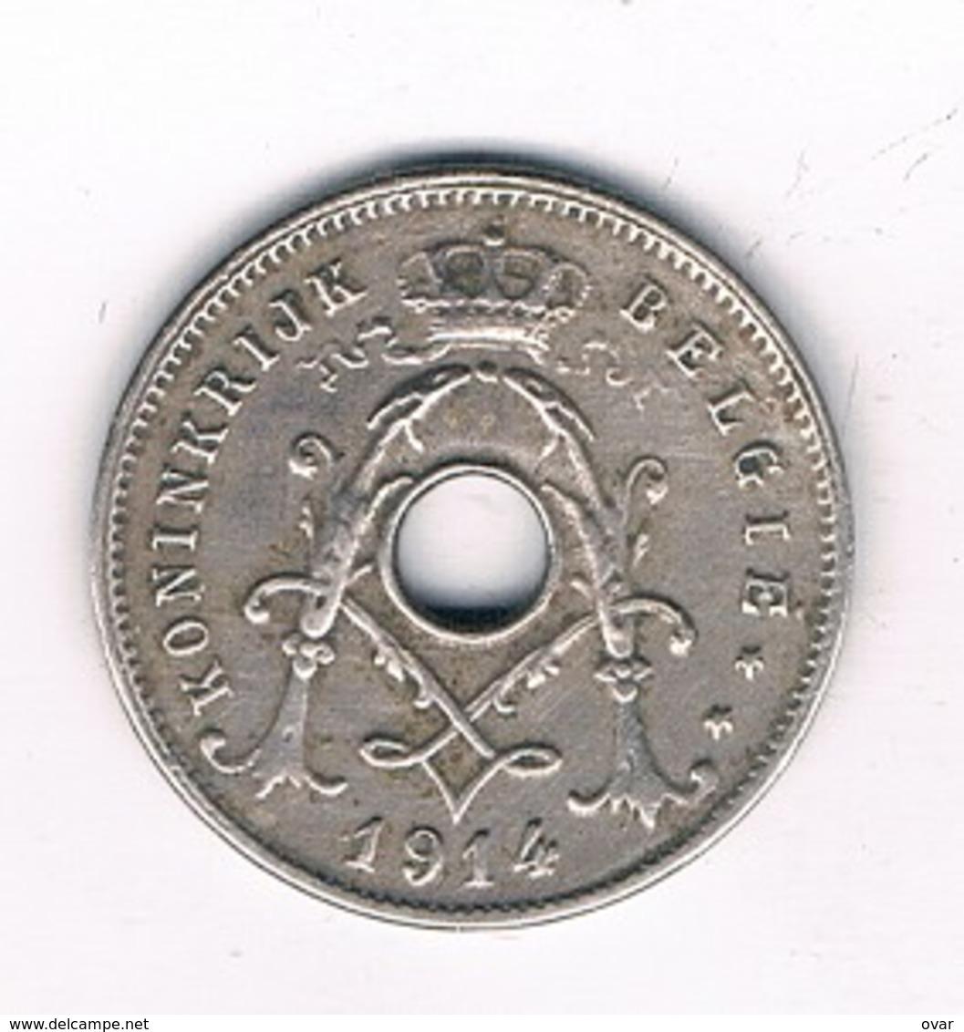 5  CENTIMES 1914 VL  BELGIE /6714/ - 03. 5 Centimes