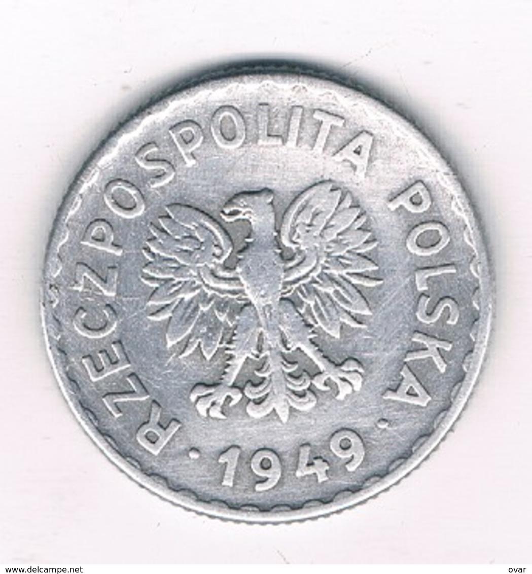 1 ZLOTYCH  1949  POLEN /6723/ - Pologne