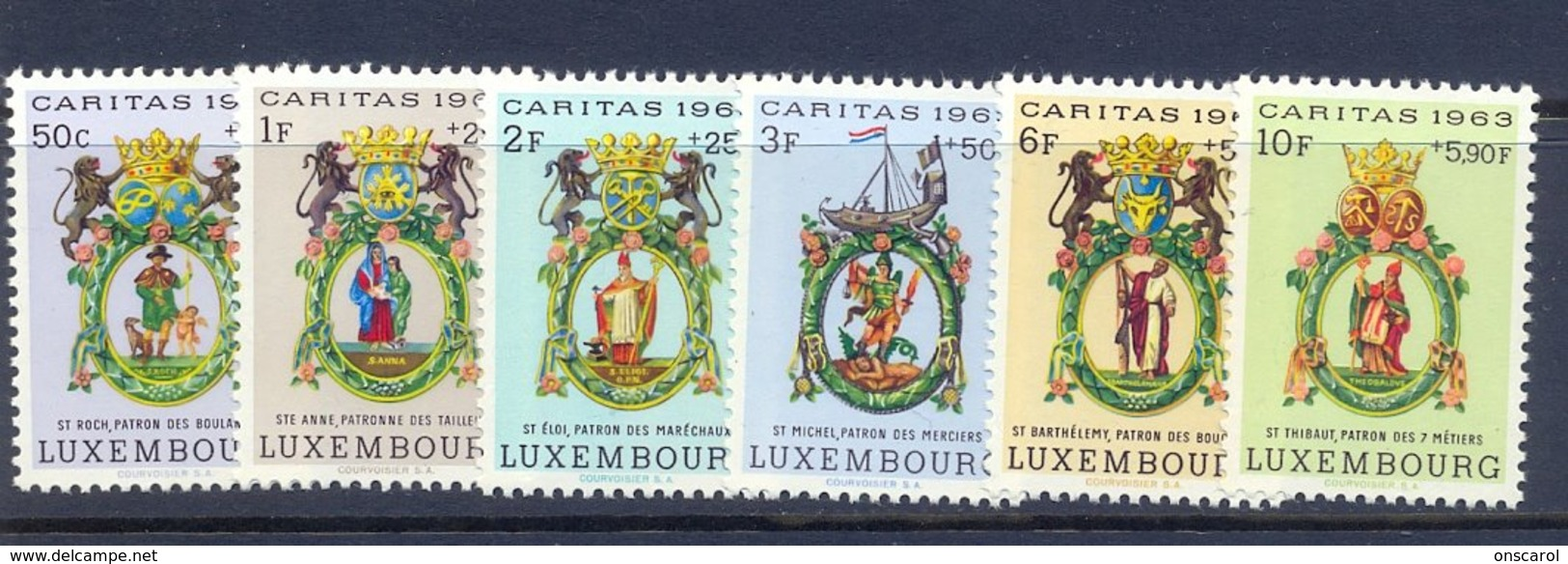 Nrs. 638/643 ** MNH Postgaaf - Luxembourg