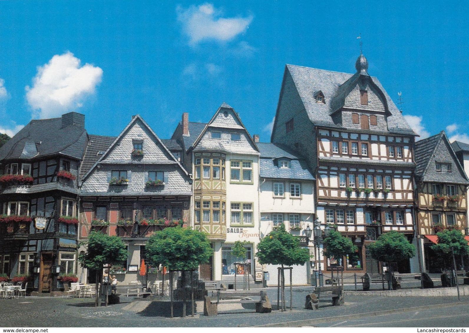 Postcard Adenau / Hocheifel Marktplatz My Ref  B23729 - Germany