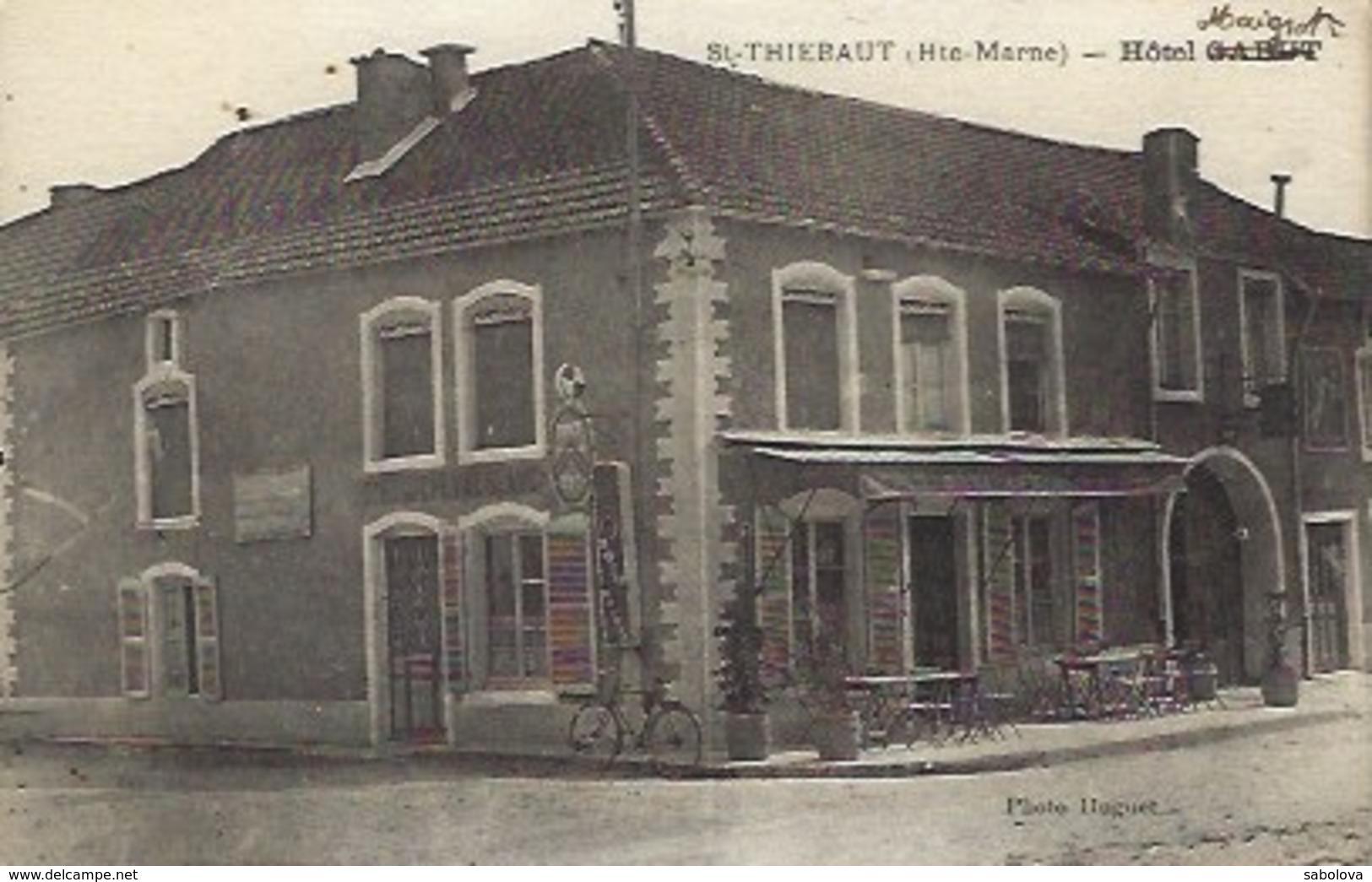 Saint Thiébaut Près Chaumont  Hôtel  Habit Puis Maigrot - France