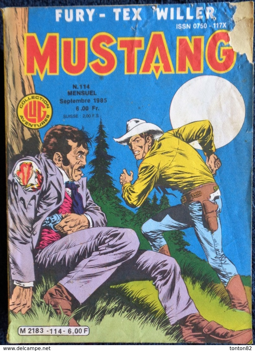 MUSTANG - Mensuel N° 114 - Éditions LUG - ( Septembre 1985 ) . - Mustang