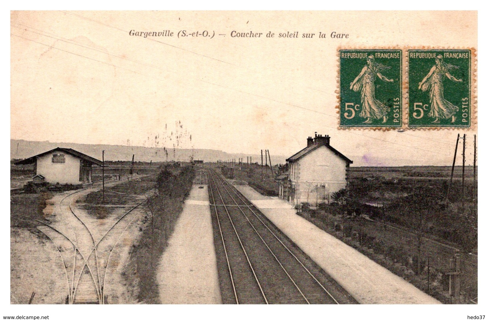 Gargenville - La Gare - Gargenville