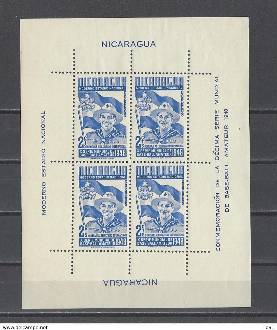 NICARAGUA . YT  Bloc N° 38 -61  Neuf **  1949 - Nicaragua