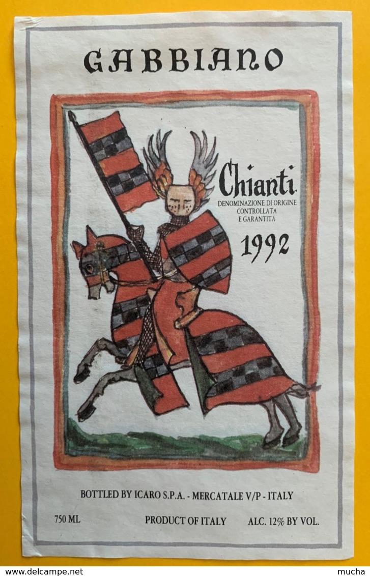 11653 - Gabbiano Chianti 1992 Chevalier - Autres